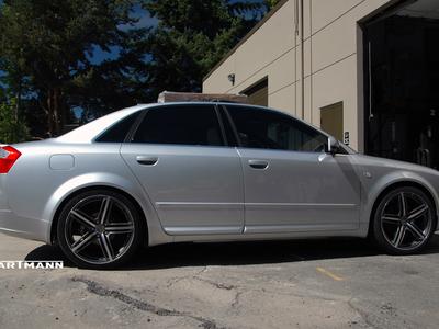 Audi b6 a4 hartmann wheels hrs6 204 gam 19 mw2 hwm