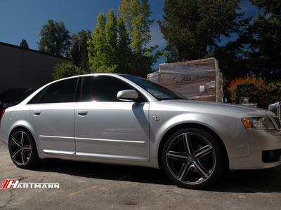 Audi b6 a4 hartmann wheels hrs6 204 gam 19 mw3 hwm