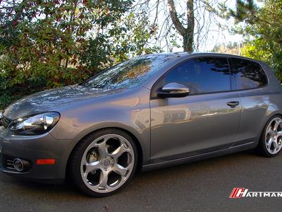 Volkswagen mkvi golf hartmann wheels g5 gs 19 rg2 hwm