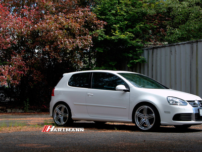 Volkswagen mkv r32 hartmann wheels hrs6 204 gs 19 ww1 hwm