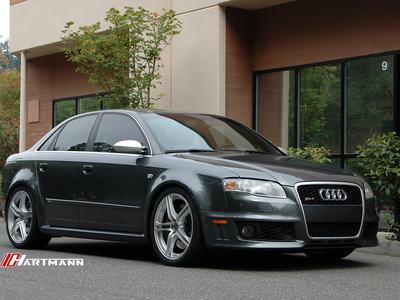 Audi b7 rs4 hartmann wheels hr8 gsm 19 dn1 hwm