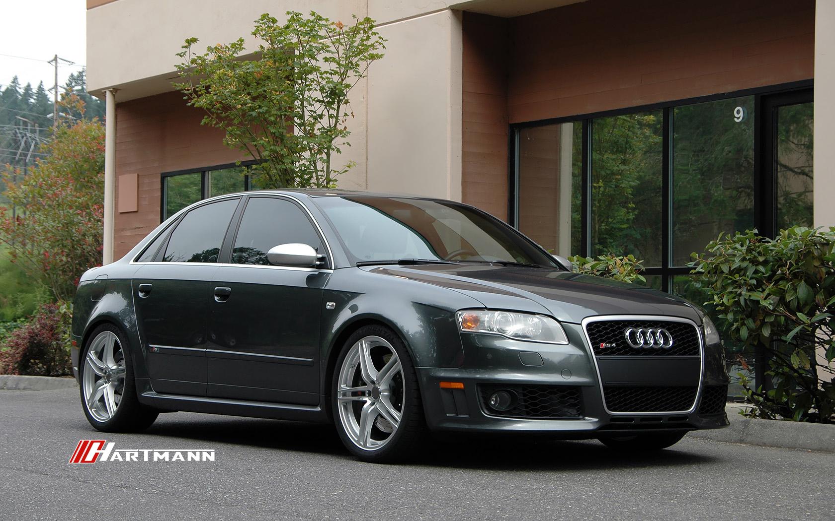 Audi b7 rs4 hartmann wheels hr8 gsm 19 dn1 hwm