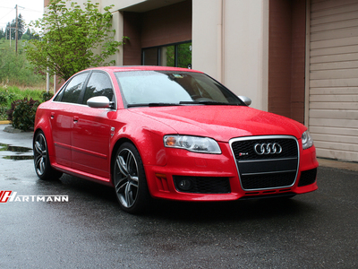 Audi b7 rs4 hartmann wheels hs5 209 gam 19 jj1 hwm