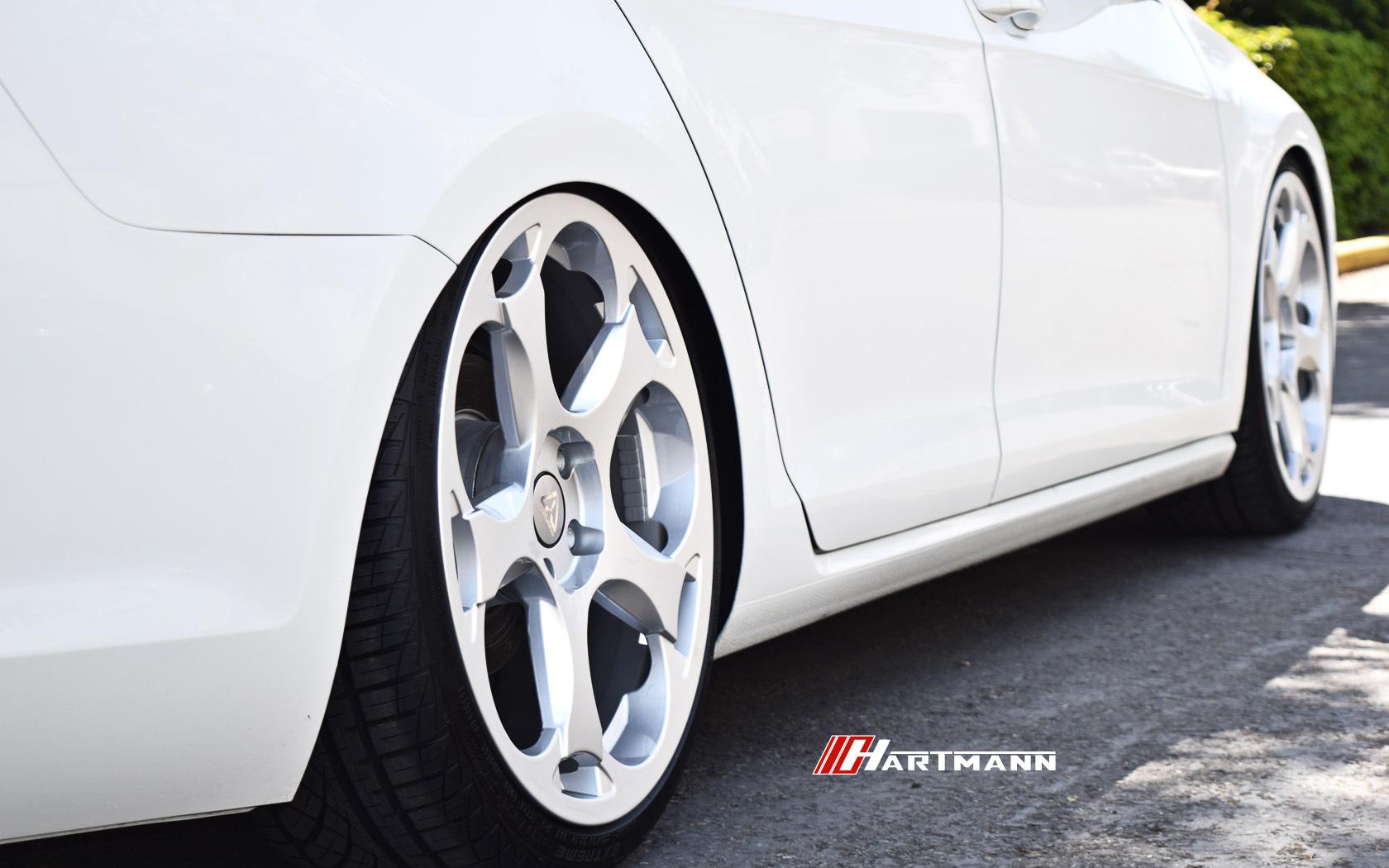 Volkswagen mkvii gsw hartmann wheels g5 gs 19 cj2 hwm